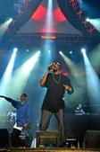 Snoop Dogg cantou temas como 'Drop Like It's Hot' e mostrou descontracção