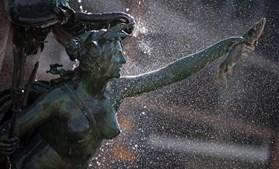 Fonte de Mende em Leipzig serviu para refrescar muitos