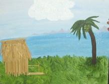 'Tiki Hut' (Viv Joynt)