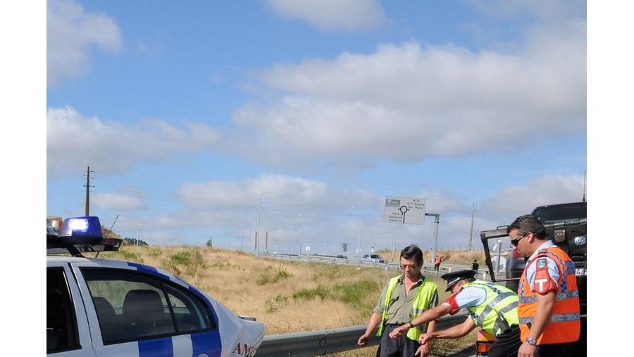 A PSP de Santarém ficou sem uma viatura para o policiamento