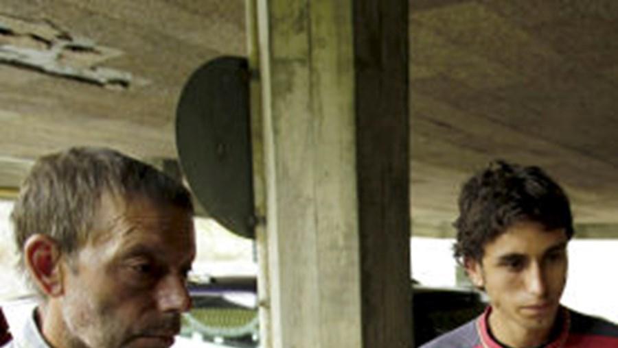 Glória Silveira morreu esmagada por ferros do palco. O marido, António Mota, e o filho, José, viram tragédia