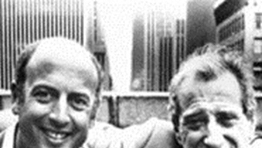 Jerry Leiber (à direita) fez dupla com Stoller
