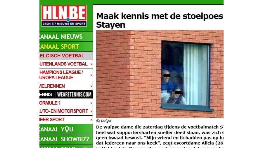 Casal belga estava instalado no hotel que pertence ao estádio