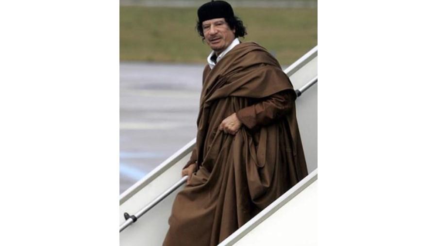 """""""Estou convencido que iremos vencer"""", terá dito Kadhafi"""