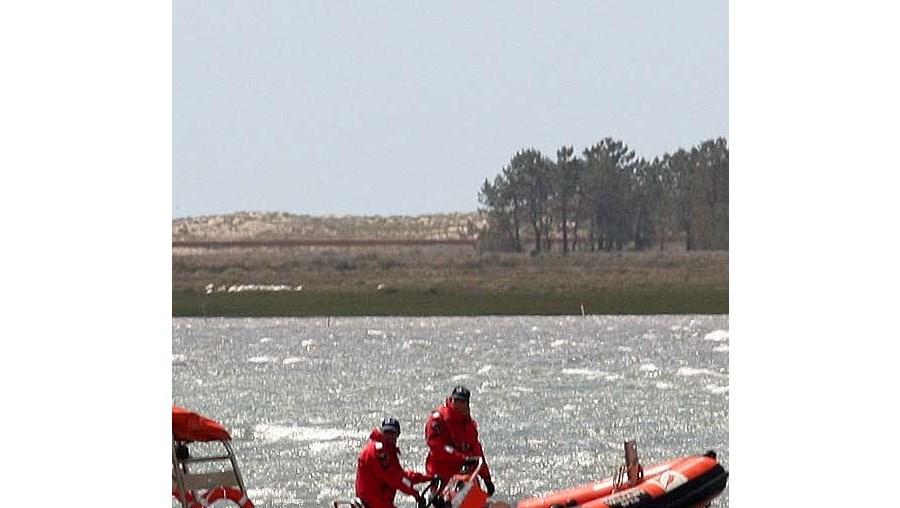 Salva-vidas da Capitania de Olhão sofreu alguns danos no casco