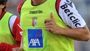 Sporting de Braga: Nuno Gomes quer recuperar titularidade