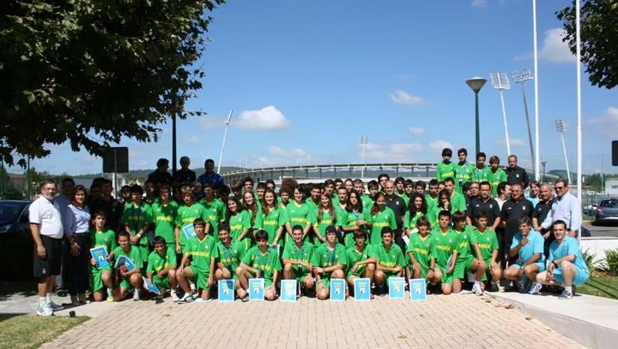 Jovens árbitros em Rio Maior