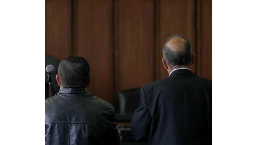 Os arguidos no Tribunal de Oliveira de Azeméis, onde foram julgados em primeira instância