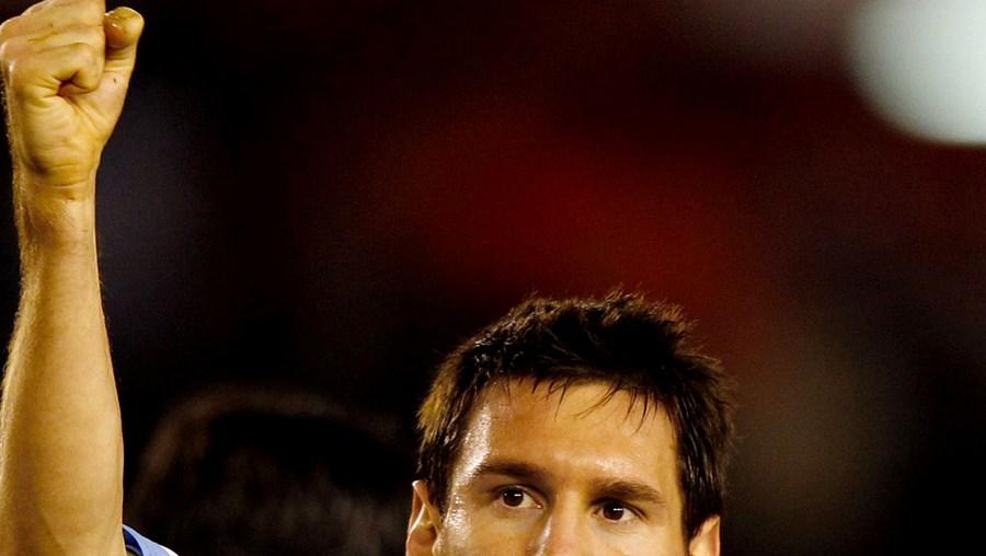 Lionel Messi foi considerado o melhor jogador do mundo em 2009 e 2010