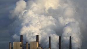 Concentração recorde de gases com efeito de estufa