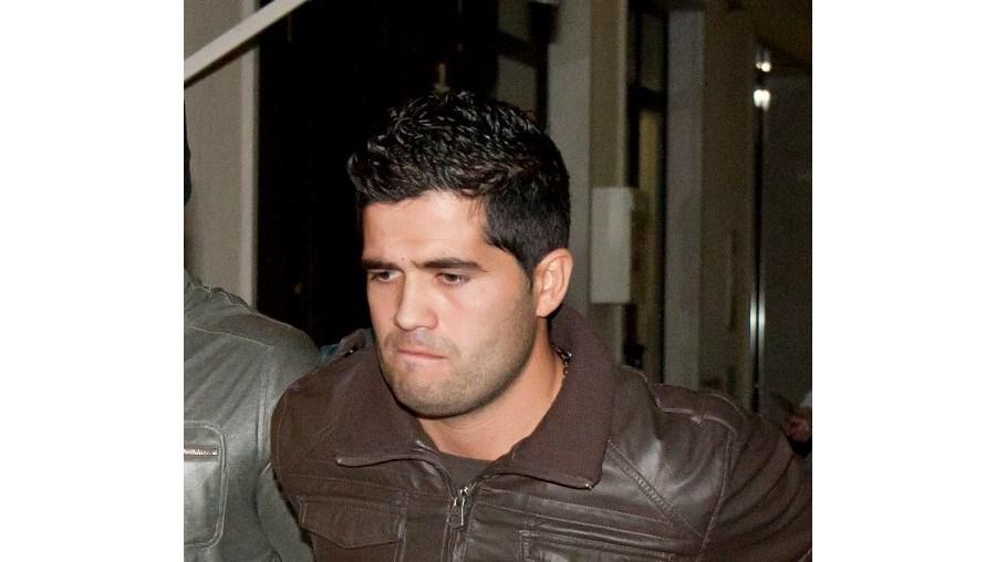 Carlos Ramos, 27 anos, foi preso pela Unidade de Intervenção da GNR junto à churrasqueira dos pais, no Pinhal Novo