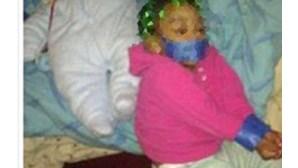 Detido por pôr foto da filha amarrada no Facebook