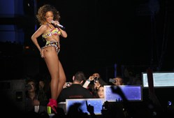 Rihanna seduziu Lisboa num ritmo imparável