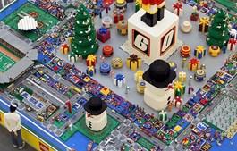 Indonésia recebeu a 'Cidade do Natal' da Lego
