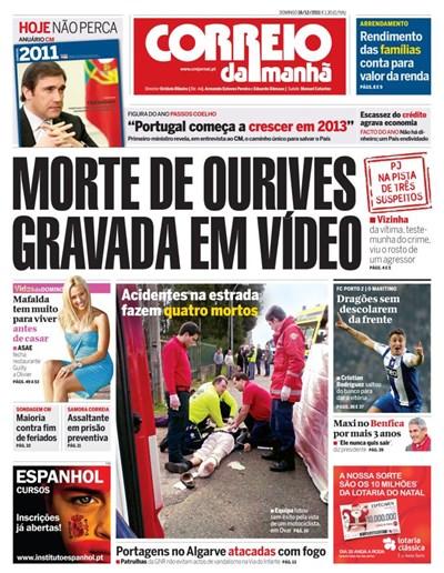 Capa 18 Dezembro 2011