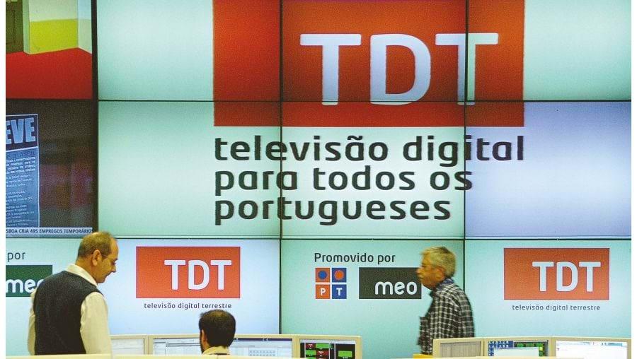 A  TDT  substitui sinal analógico em Janeiro