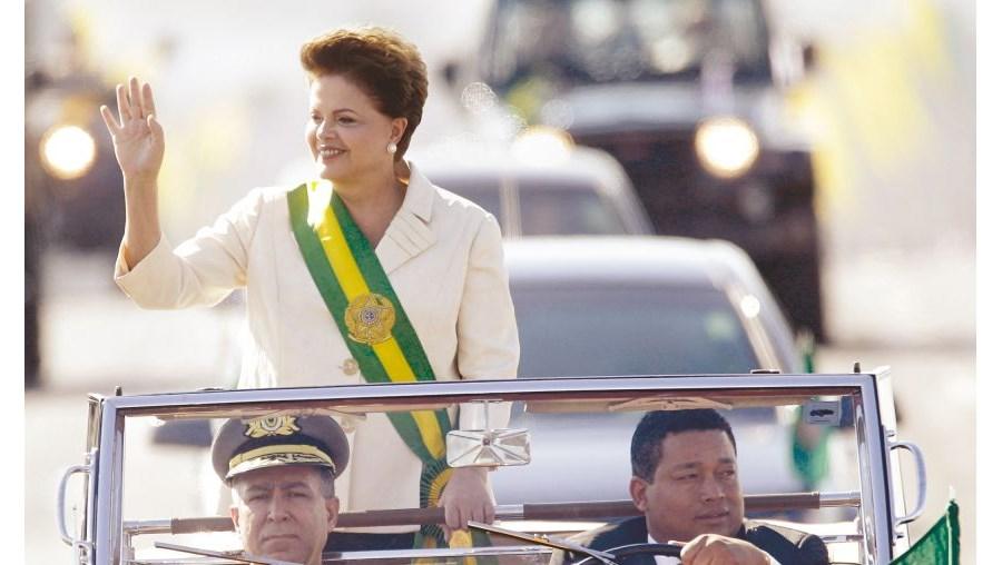 Dilma tomou posse em Janeiro de 2011