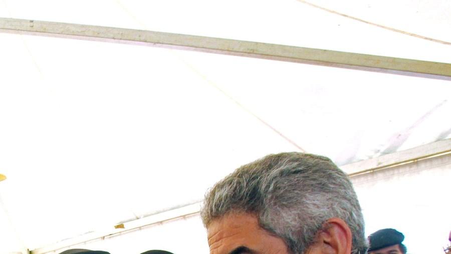 Luís Filipe Vieira fez uma arruada pelas ruas de Évora e anunciou a renovação de Maxi Pereira