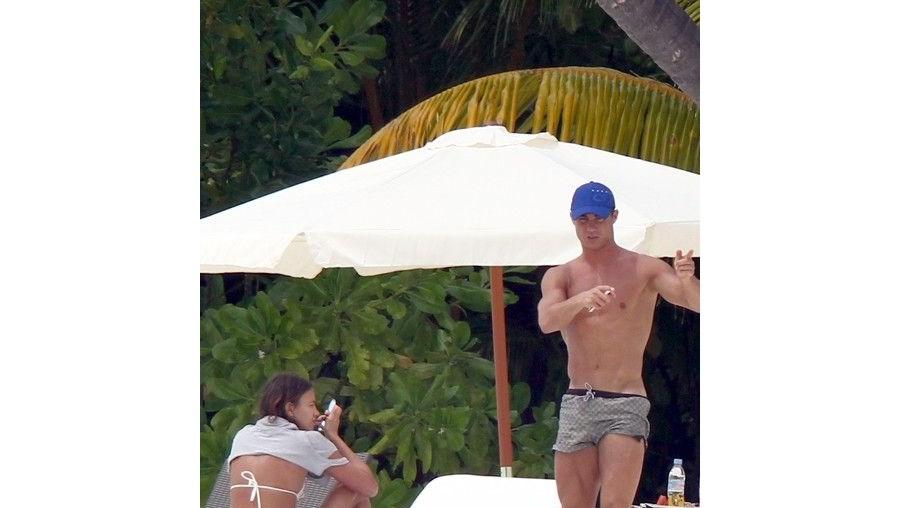 O jogador vai aproveitar as férias para namorar com Irina Shayk