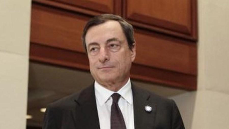 BCE é liderado por Mario Draghi