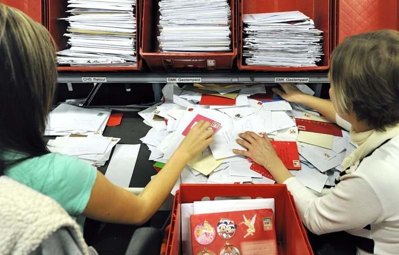 Fluxo de cartas deram muito que fazer aos correios de Amesterdão
