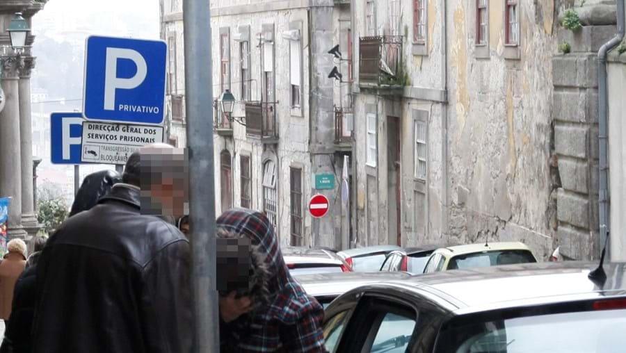 Após serem ouvidos no TIC do Porto, os dois casais foram levados para a cadeia