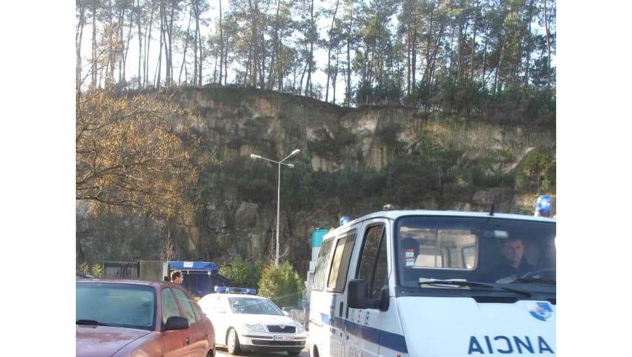 Acidente ocorreu pelas 9h00, nas instalações da empresa Arlindo Correia e Filhos