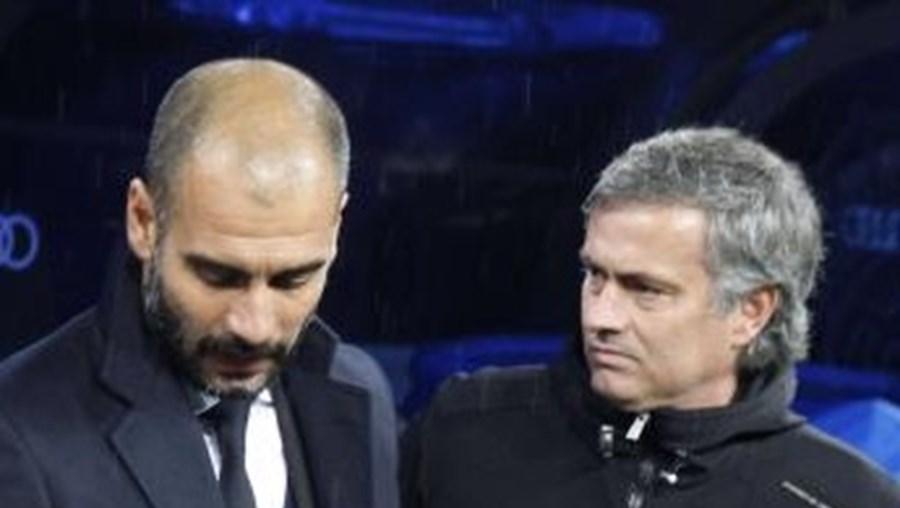 pep guardiola, mourinho, barcelona, real madrid