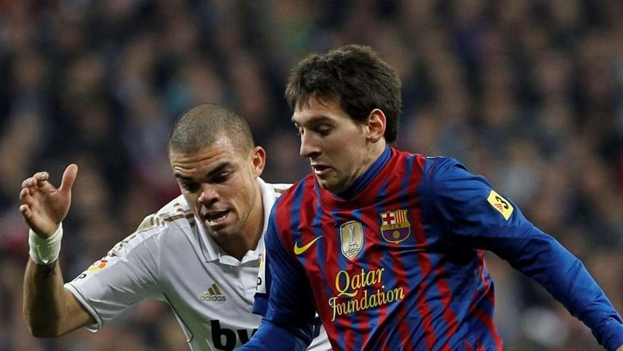 """A pisadela de Pepe a Messi gerou uma onda de contestação contra o internacional português. O central do Real Madrid justificou-se: """"Foi um acto involuntário"""""""