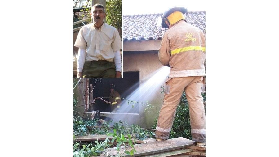 Bombeiros de Vila Verde combateram incêndio que destruiu habitação de irmãos idosos