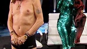 Steven Tyler despe-se no 'American Idol' (COM VÍDEO)
