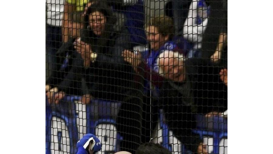 Reinaldo Ventura festeja um dos golos do FC Porto