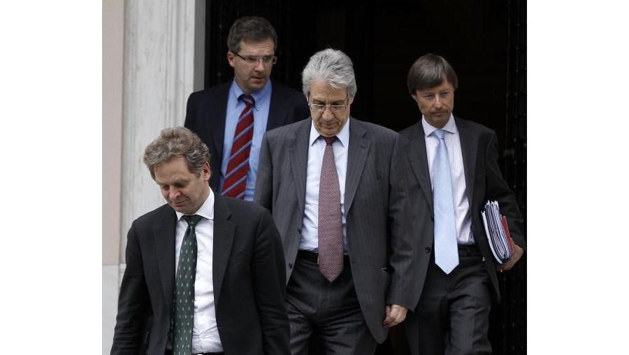 Troika saiu da residência do primeiro-ministro grego com as mãos a abanar