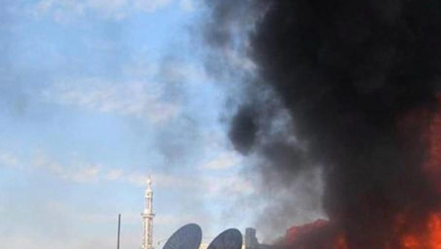 O bombardeamento sistemático de zonas residenciais é uma das tácticas do regime