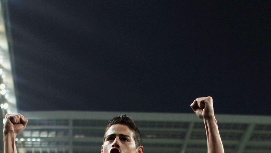 M. United observou James no M. City-FC Porto (4-0)
