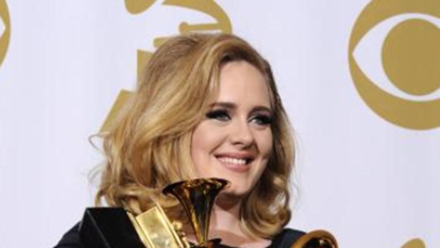 O disco '21' ganhou esta semana um novo fôlego nas vendas, graças aos seis Grammy que Adele recebeu