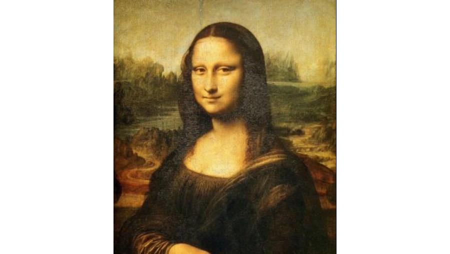 O famoso retrato de Leonardo Da Vinci 'Mona Lisa'