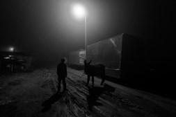 Família. O bairro do Iraque começou a ser fotografado no início de Janeiro de 2011. Nesta foto, um dos membros da família Baptista, Gilberto