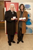 Carlos do Carmo e Bernardo Sassetti na Gala da Sociedade Portuguesa de Autores