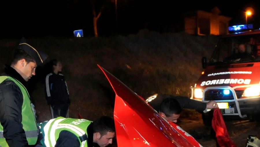 Um dos últimos acidentes mortais envolveu um potente Ferrari