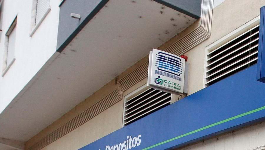 O banco assaltado