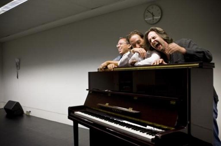 Um dos seus últimos grandes espectáculos foi 'Três Pianos', no Centro Cultural de Belém, ao lado de Mário Laginha e de Pedro Burmester