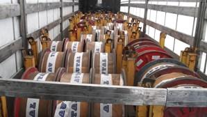 Cadaval: GNR recupera veículo furtado com 22 toneladas de cobre