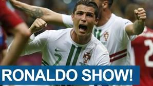 """""""Ronaldo show"""" na imprensa internacional"""