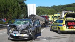 252 morreram nas estradas desde Janeiro