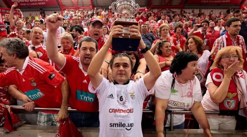 Resultado de imagem para Benfica sagra-se campeão nacional de futsal