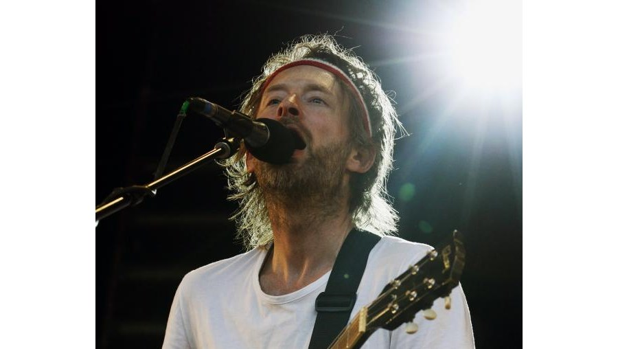 Thom Yorke, vocalista dos Radiohead