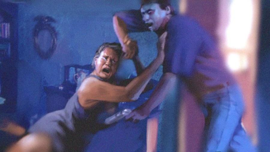 Ilustração de um assalto a uma habitação