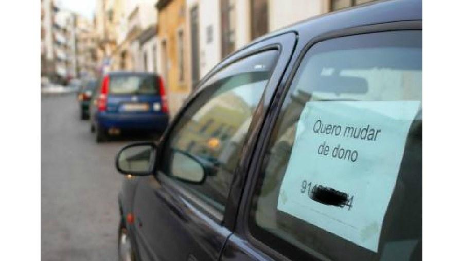 venda, carros, rua, reboque, polícia municipal, hipermercado