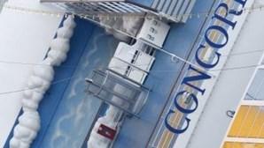 Caixa negra do Concordia avariou quatro dias antes do naufrágio